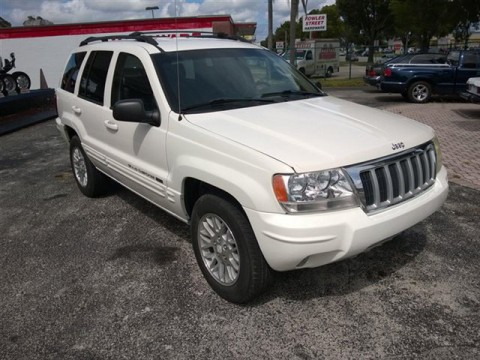 2004 Jeep Grand Cherokee 4dr Limited 4WD na prodej