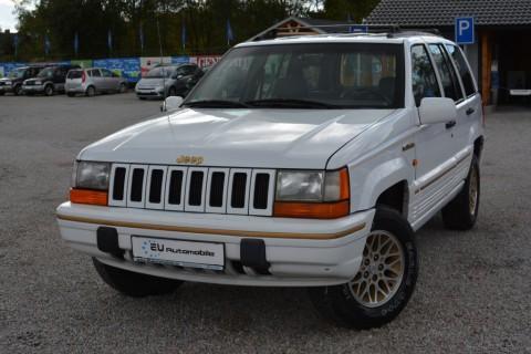Jeep Grand Cherokee ZJ 4.0 Limited LPG na prodej
