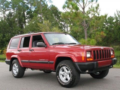 1999 Jeep Cherokee SPORT 4×4 na prodej