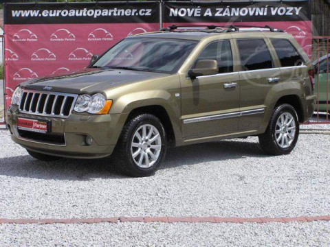 2010 Jeep Grand Cherokee Overland 3.0 V6 CRD 160kW na prodej