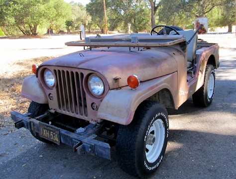 1953 Willys M38A1 Military Jeep na prodej