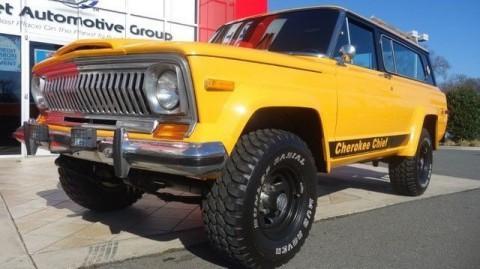 1977 Jeep Cherokee CHIEF V8 na prodej