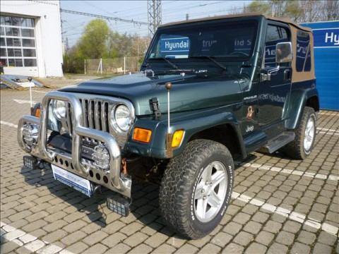 2002 Jeep Wrangler 4.0i HARD TOP SAHARA na prodej