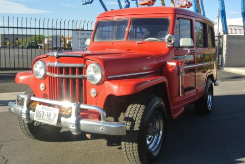 1956 Jeep WILLYS WAGON SUPER HURRICANE 4X4 na prodej