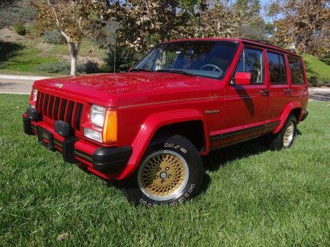 1989 Jeep Cherokee Limited 4.0L na prodej