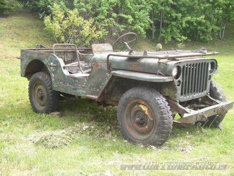 1945 Jeep Willys na prodej