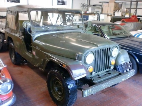 1975 Jeep CJ 6  AMC 3,8l na prodej