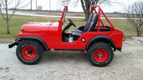 1970 Jeep CJ5 Base Sport Utility 3.7l na prodej