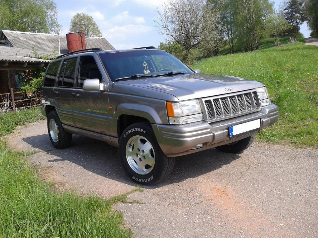 1998 jeep grand cherokee zj 177 kw 5 9l na prodej. Black Bedroom Furniture Sets. Home Design Ideas