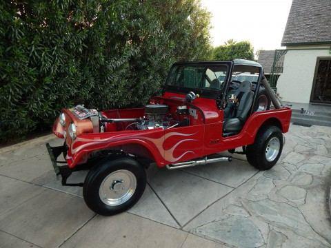 1979 Jeep CJ5 Hot Rod 5.0l na prodej