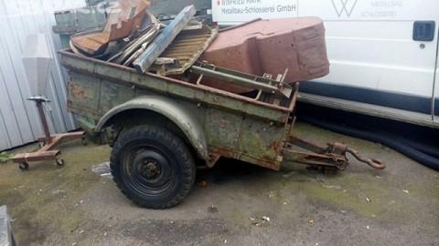 Jeep Willys trailer na prodej