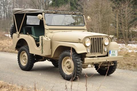 1969 Jeep CJ 5 Kaiser na prodej