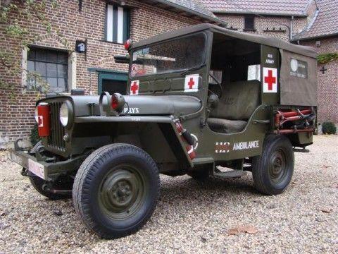 1961 Jeep DJ3A Willys –  Ambulance na prodej