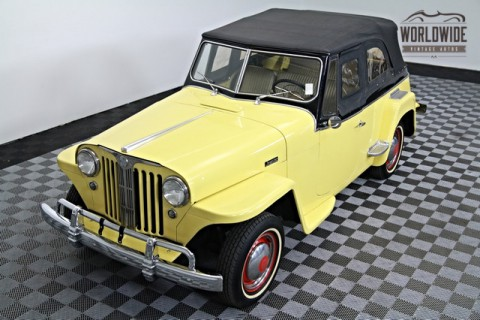 1948 Willys Jeepster Convertible Restored na prodej