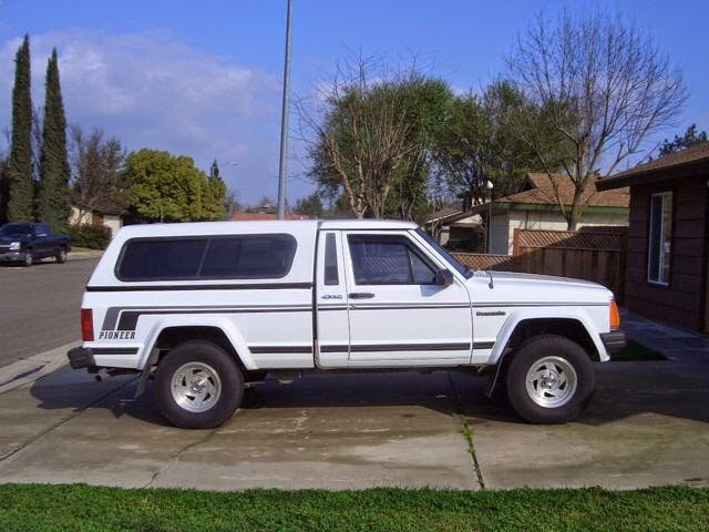Jeep Comanche Camper Shell >> Camper Shell For 1987 Toyota 4x4 | Autos Post