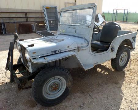 1952 Jeep  Willys CJ3A all original na prodej