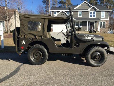 1953 Jeep Willys M38A1 na prodej