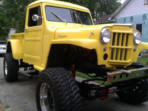 1953 Jeep Willys pickup na prodej
