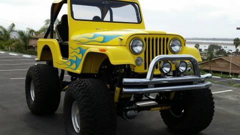 1966 Custom Jeep CJ5 Monster show truck na prodej