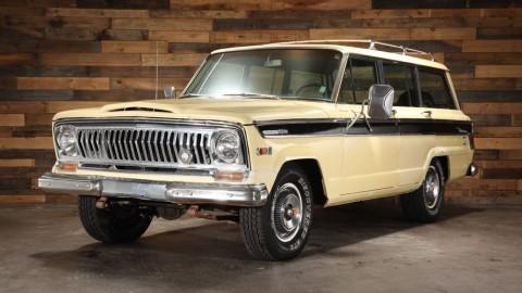 1970 Jeep Wagoneer SJ 4WD na prodej