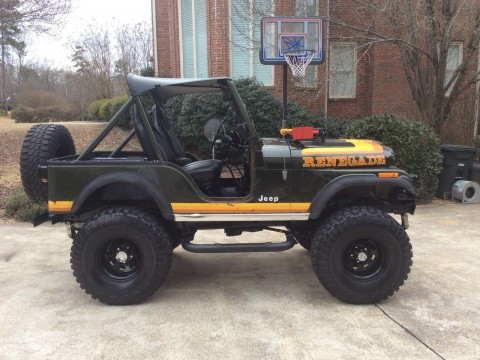 1981 a Jeep CJ-5 Renegade Survivor Original Paint Lifted CJ 4×4 na prodej