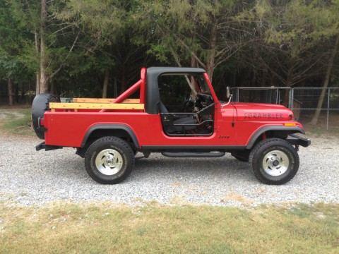 1984 Jeep CJ pickup na prodej