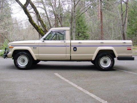 1985 Jeep ONLY 77K Stock J20 4×4 V8 na prodej