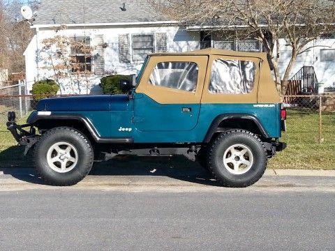 1995 Jeep Wrangler na prodej