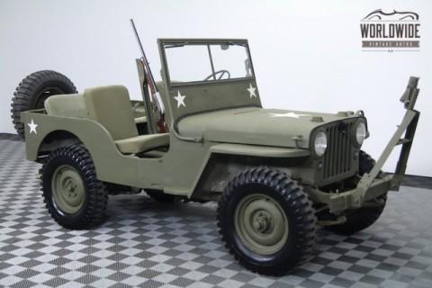 1946 Jeep CJ Rare Options. Excellent Original Condition! na prodej