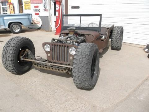 1949 Willys Jeep Ratrod na prodej