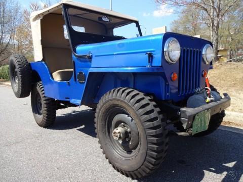 1964 Jeep Willys na prodej