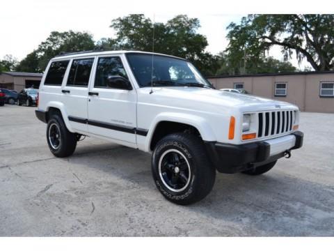 2001 Jeep Cherokee Sport 4WD na prodej