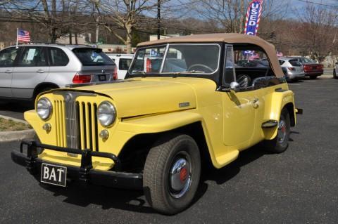 1949 Jeep Wlly's Overland Jeepster na prodej