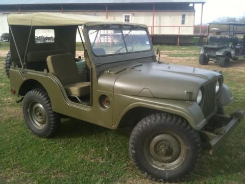 1953 Willys Jeep M38a1 na prodej