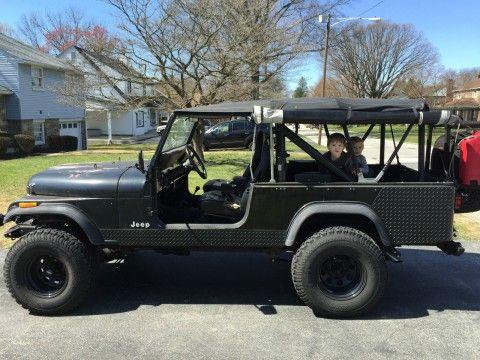 1983 Jeep CJ na prodej