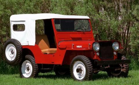 1948 Willys Jeep CJ3A na prodej
