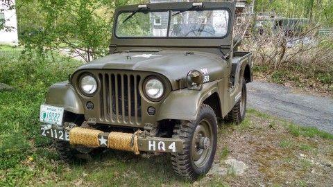 1953 Willys M38A1 Jeep Korean War na prodej