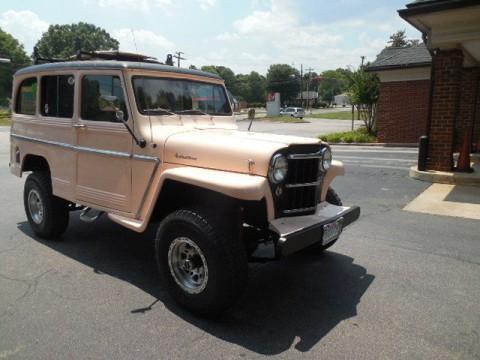 1962 Jeep Willys Wagon na prodej