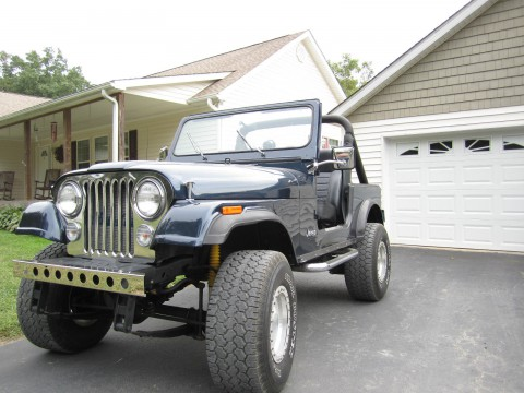 1986 Jeep CJ 7 na prodej