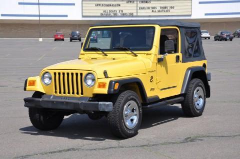 2002 Jeep Wrangler Jeep Wrangler 4×4 Soft Top na prodej