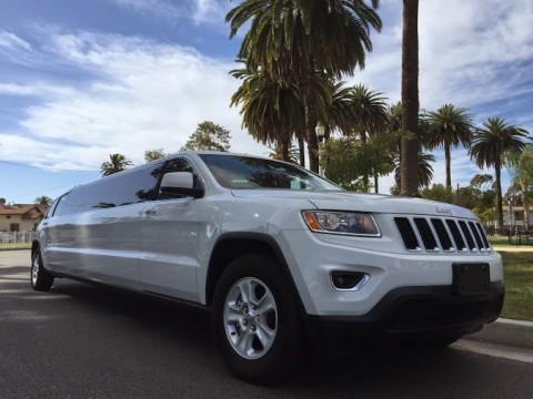 2015 Jeep Grand Cherokee Stretch Limousine na prodej