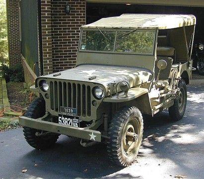 1942 Jeep Willys MB 2.2L na prodej