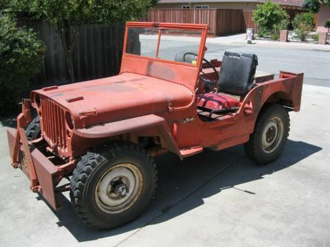 1945 Willys MB – WWII Military Jeep na prodej