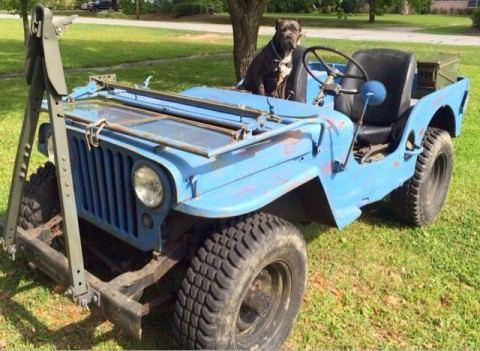 1947 Willys Jeep CJ 2A na prodej