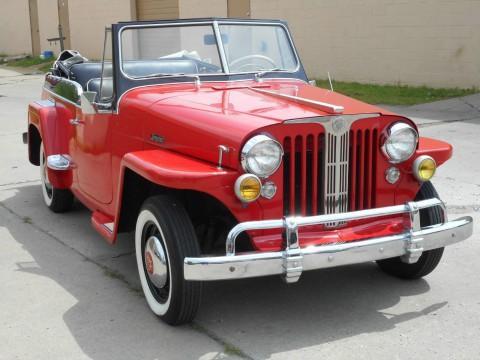 1949 Jeepster Willys Overland na prodej