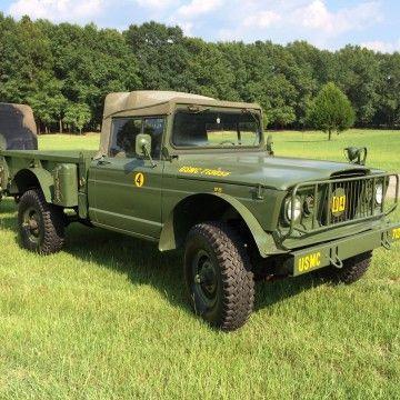 1967 Jeep Gladiator M715 a M101 trailer na prodej