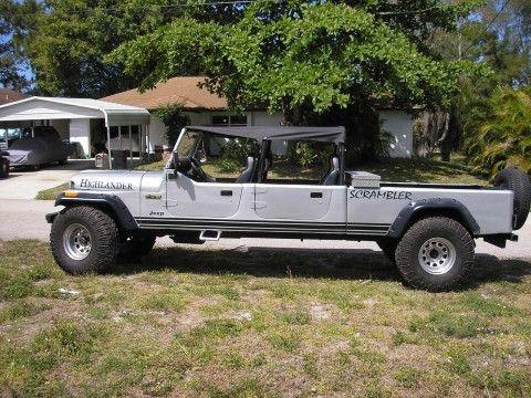 1984 Jeep CJ 4 DR–CONVERTIBLE–TRUCK na prodej