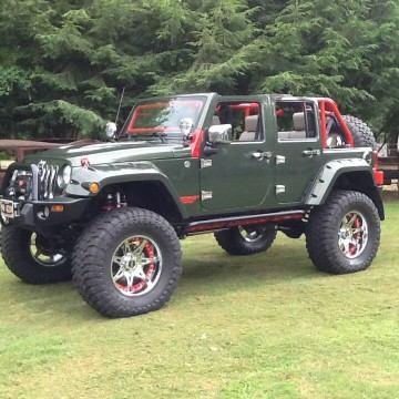 2009 Jeep Wrangler Unlimited Hemi 4×4 JK na prodej