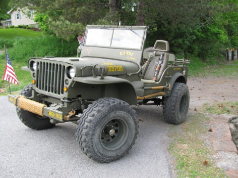 1943 jeep Willys na prodej