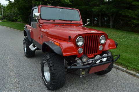 1983 Jeep CJ7 na prodej